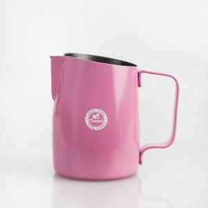 "Молочники. Молочник, 450 мл., ""TIAMO"", HC7106 BK/PK (черный/розовый)"