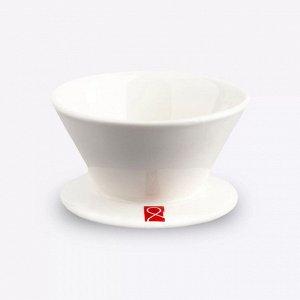 Товары для заваривания кофе и чая. Дриппер December Bottomless, керамика, 2-3 чашки