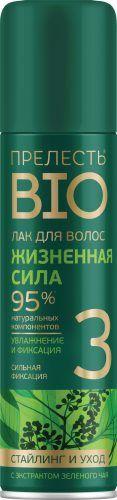 Лак для волос Прелесть Bio,160мл