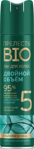 Лак для волос «Прелесть Bio» Двойной объём ССФ