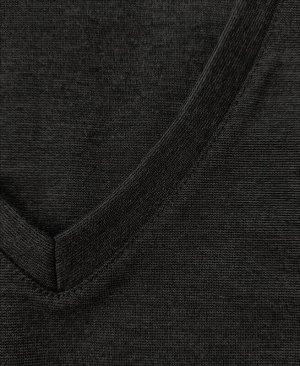 Серый школьный жилет для мальчика Цвет: серый меланж