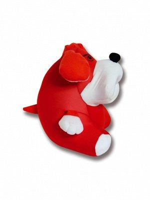 """Антистрессовая игрушка """"Собака Спайк"""" (Красный)"""