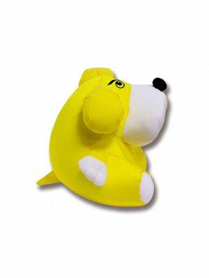 """Антистрессовая игрушка """"Собака Спайк"""" (Желтый)"""