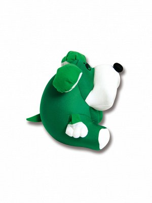 """Антистрессовая игрушка """"Собака Спайк""""(Зеленый)"""