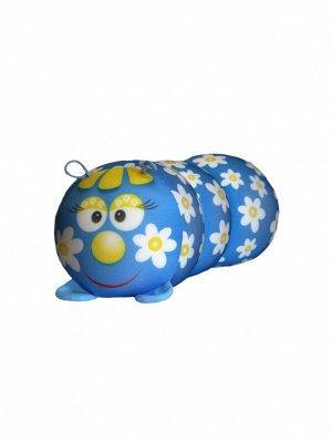 "Антистрессовая игрушка-валик ""Гусеница"" мал. (Ромашка)"