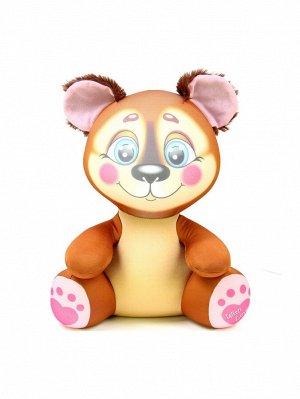 """Антистрессовая игрушка """"Лапуши"""" медведь"""