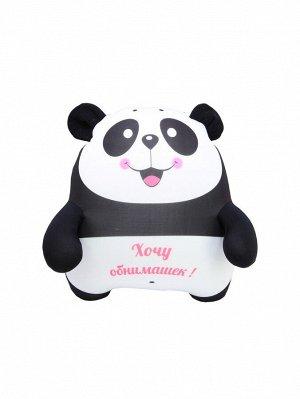 """Антистрессовая плюшка """"Панда"""" улыбка с языком"""
