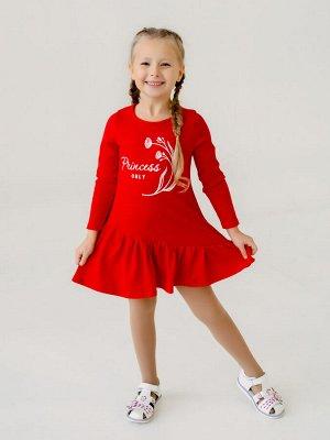 Платье Алиса Princess красный