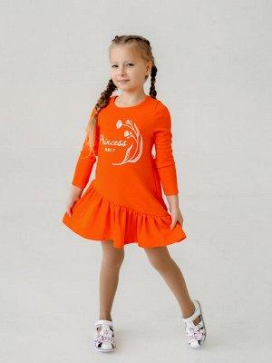 Платье Алиса Princess оранж