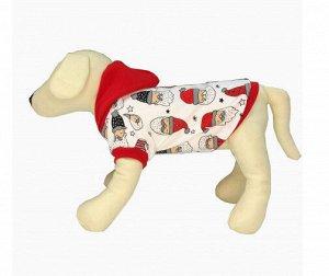 Футболка с капюшоном для собак OSSO Fashion р. 20