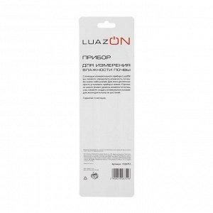 Прибор для измерения LuazON. влажность почвы. механический. зеленый