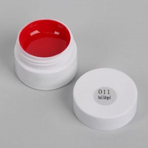 Гель-лак для ногтей (для стемпинга) 3-х фазный LED/UV 8гр 011 красн