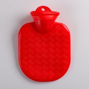 Грелка 0,5л красная