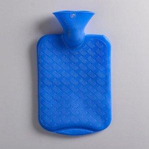 Грелка 1л синяя