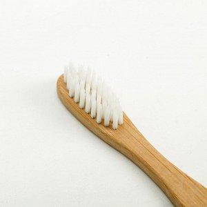 Зубная щётка для взрослых, «Новый год - новая жизнь», 2 х 21,4 х 2 см