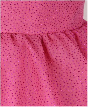 Корраловое нарядное платье для девочки Цвет: коралловый