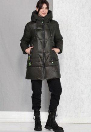 пальто Полупальто женское, зимнее, из гладкокрашеной полиэфирной ткани, с утепляющей подкладкой из 2-х слоев синтепона, на притачной подкладке.  Синтепон ISOSOFT уникального бельгийского качества, кот