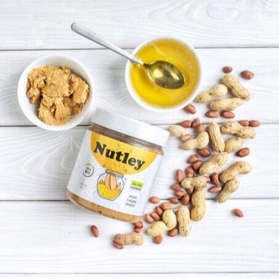 Мед, пасты, урбечи. Бомбические новинки.  — Ореховые пасты Nutley (300,500,1000 гр) — Орехи и мед