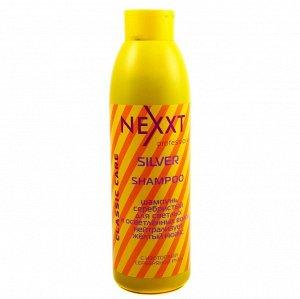 Шампунь серебристый для светлых и осветленных волос NEXXT 1000 мл