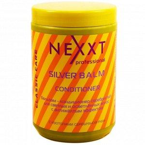Бальзам-кондиционер серебристый для светлых волос NEXXT 1000 мл