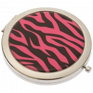 Зеркало косметическое «Розовый тигр» Dewal Beauty