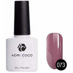 Цветной гель-лак ADRICOCO №073 дымчато-пурпурный