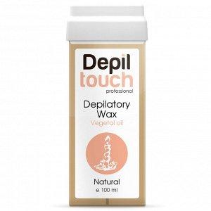 Тёплый воск с растительными маслами «Натуральный» Depiltouch 100 мл