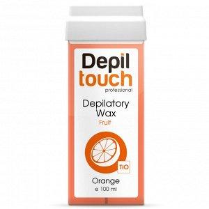 Тёплый воск с цитрусовым ароматом «Апельсин» Depiltouch 100 мл