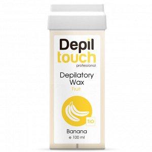 Тёплый воск с нежным ароматом «Банан» Depiltouch 100 мл