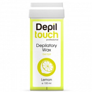 Гелевый полупрозрачный воск «Лимон» Depiltouch 100 мл