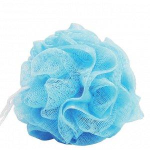 Мочалка для тела голубая Dewal Beauty