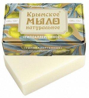 Натуральное мыло на оливковом масле «Гипераллергенное» Дом Природы 100 г