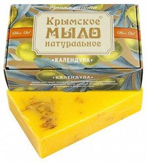 Натуральное мыло на оливковом масле «Календула» Дом Природы 100 г