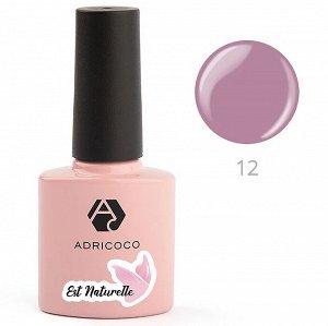 Цветной гель-лак «Est Naturelle» № 12 ADRICOCO 8 мл