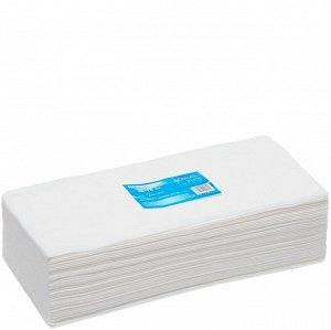 Полотенце одноразовое 35x70 белое ВЫБОР White Line 50 шт/уп