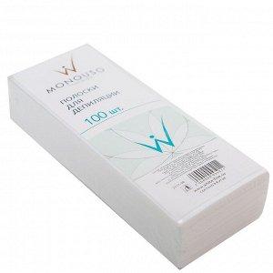 Полоски для депиляции 100 шт/уп White Line 7*20 см