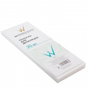 Полоски для депиляции 20 шт/уп White Line 7*20 см