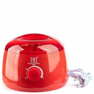 Воскоплав для горячего воска wax 100 красный TNL 400 мл
