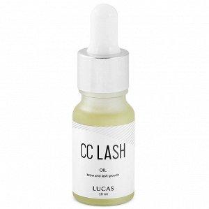 Масло для роста ресниц и бровей CC LASH OIL LUCAS 10 мл