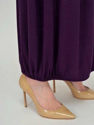 Юбка Любимый цвет и фасон!  Юбка женская , пояс на резинке 4.5 см.Низ изделия присобран и окантован. На полочке втачные карманы.Юбка без подкладки.  Состав:95% вискоза;5% лайкра Цвет:фиолетовый
