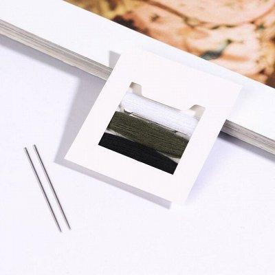 Скидка от поставщика на нитки и иголки. Супер цена — Наборы для шитья