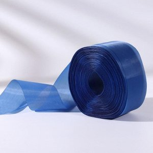 Лента капроновая, 50 мм, 100 ± 5 м, цвет синий