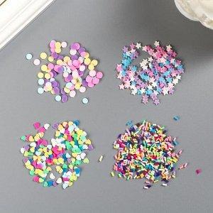 """Мини-конфетти American Crafts  """"Pastel"""" 4 шт"""