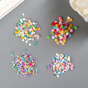 "Мини-конфетти American Crafts ""Bright"" 4 шт"