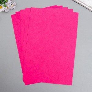 """Фетр жесткий 1 мм """"Тёплый розовый"""" набор 10 листов формат А4"""