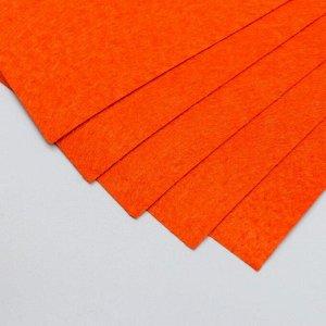 """Фетр жесткий 1 мм """"Красное дерево"""" набор 10 листов формат А4"""