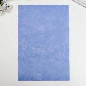 """Фетр жесткий 1 мм """"Фиолетовый тюльпан"""" набор 10 листов формат А4"""