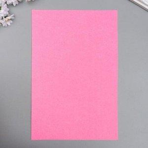 """Фетр жесткий 2 мм """"Телесно-розовый"""" набор 5 листов формат А4"""