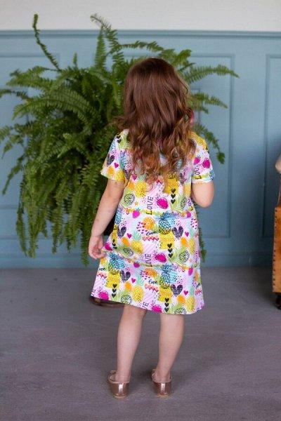 Стильные пижамы от 315 руб! Для девочек и мальчиков — Детские платья и сарафаны — Платья и сарафаны