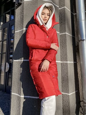 Куртка Описание: –Размер:42-44 –Цвет:Красный –Материал:Плащевка + синтепон –Страна производства:Украина Ткань основы плащевка Canada, утеплитель синтепон 200, подкладка атлас. Застежки зме